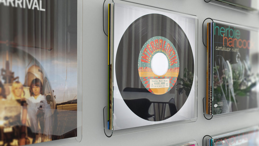 Magic Vinyl Display Frontansicht