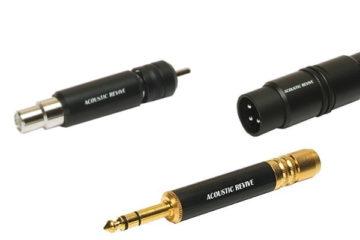 Acoustic Revive Zwischenstecker RCA, Phono und XLR