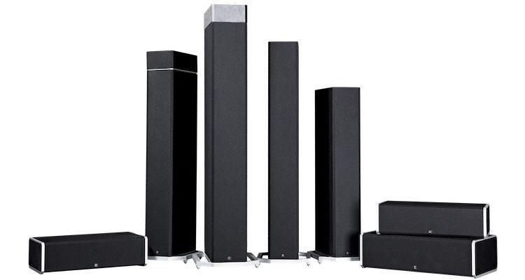Lautsprecher-Serie BP9000 von Definitive Technology