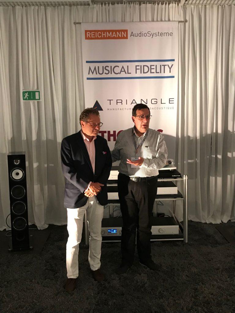 Heinz Lichtenegger, Antony Michaelson, Musical Fidelity