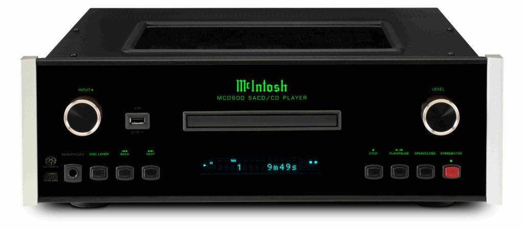 McIntosh MCD600 AC Front