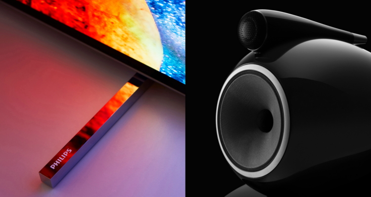 Partnerschaft Bowers & Wilkins TP Vision Philips