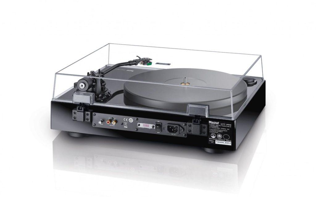 Magnat Plattenspieler MTT 990 Rückseite