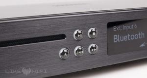 Testbericht: Der CD-Player Creek Evolution ist mit einer Hand voll eleganter Drucktaster ausgestattet