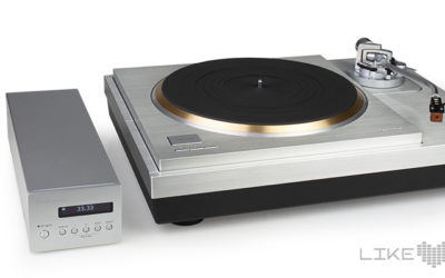 Technics SL-1000R Plattenspieler High End Turntable Test