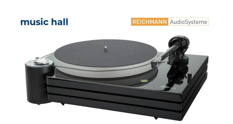 Music Hall Plattenspieler Turntable Reichmann Audiosysteme Vertrieb Deutschland