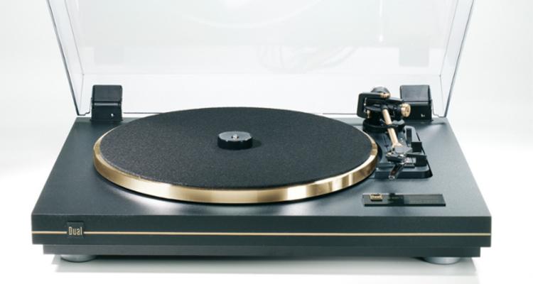 Dual Plattenspieler CS-455-1 Vollautomatik Phonovorverstärker