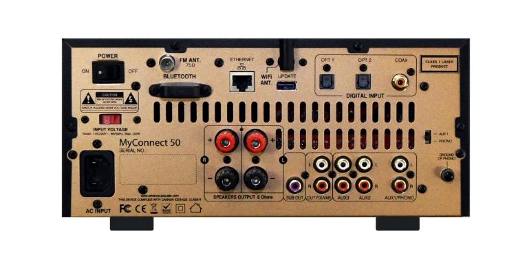 Advance Paris MyConnect 50 - Anschlüsse