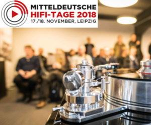 Mitteldeutschen HiFi-Tage 2018 Plattenspieler Vinyl Schallplatte