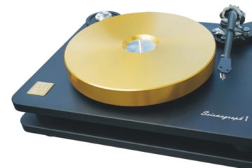 SoReal-Audio Seismograph Plattenspieler Turntable High End