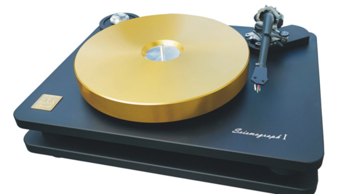 SoReal-Audio Seismograph Plattenspieler Turntable High End