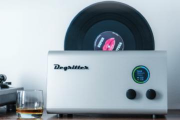 Ultraschall-Plattenwaschmaschine DEGRITTER