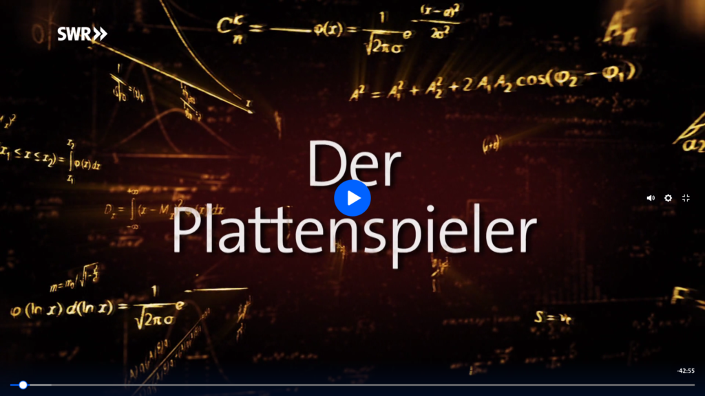 "SWR Doku ""Der Plattenspieler"" ARD Mediathek Technikgeschichten aus dem Südwesten"