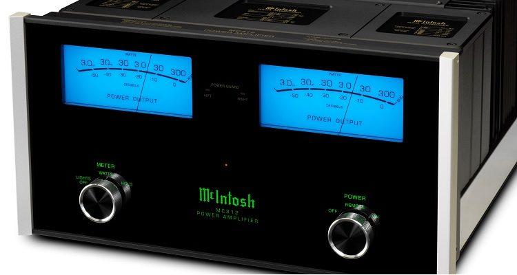 McIntosh MC312 Stereoendstufe Endstufe Solid State Amplifier