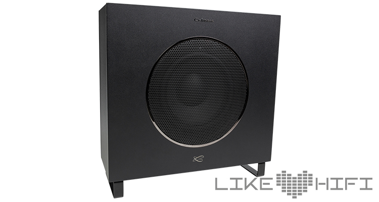 Subwoofer des 5.1 Sets der Cabasse Eole 4 Lipari Test Review rapport de test