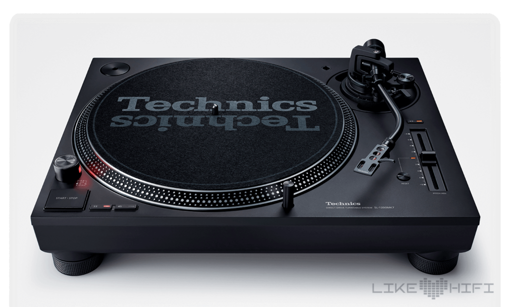 Technics Direct Drive Turntable SL-1200MK7 DJ Plattenspieler CES 2019