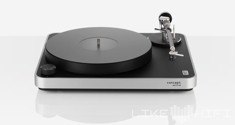 clearaudio concept active Plattenspieler Turntable Kopfhörerverstärker Phono