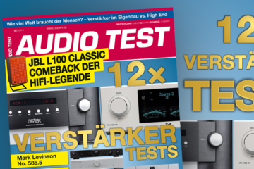 AUDIO TEST Titel 2/2019 Verstärker Test Spezial Stereovollverstärker