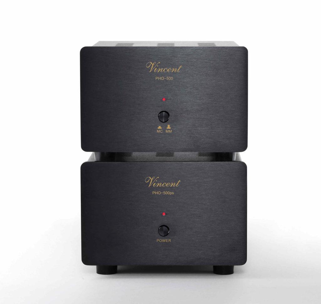 Vincent Phonovorverstärker PHO-500 black front