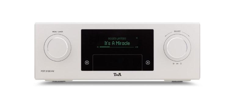 PDT 3100 HV von T+A ein C D/ SACD-Laufwerk