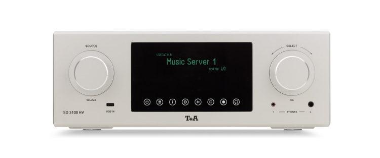 Streamer und Wandler T+A SD 3100 HV