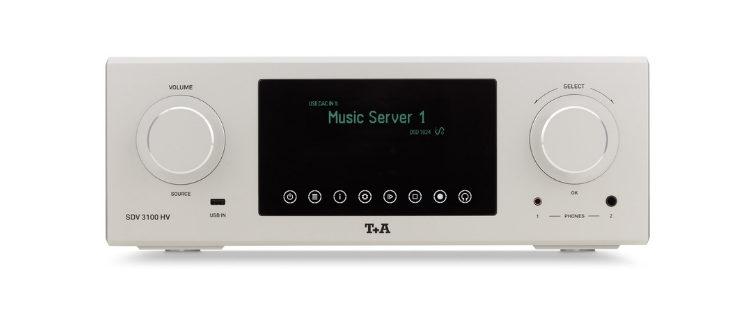 Wandler und Vorverstärker T+A SDV 3100 HV