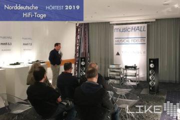 Norddeutsche hifi tage 2019 NDHT Hörtest Reichmann Triangle Musical Fidelity Music Hall