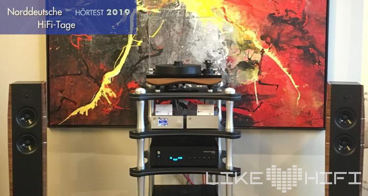 Norddeutsche hifi tage 2019 NDHT Hörtest TAD Audiovertrieb Goldnote Fyne Audio