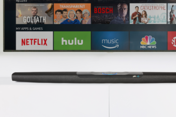 Polk Command Bar Soundbar Update Amazon Echo
