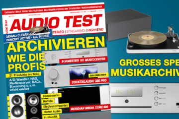AUDIO TEST Titel 3/2019 Archivierung Musikarchivierung Musikbibliothek Test Spezial Streamer Media Server