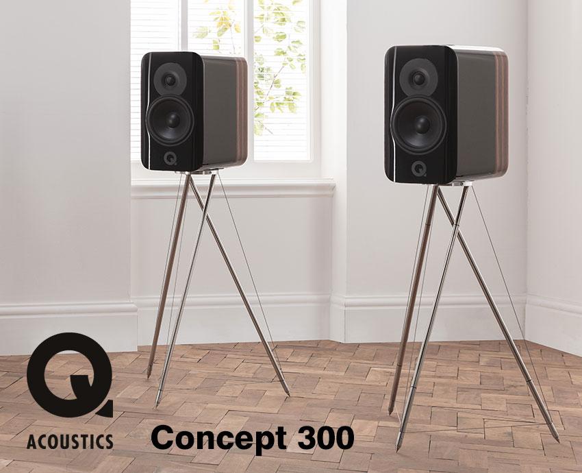 Q Acoustics Concept 300 inkl. Ständer