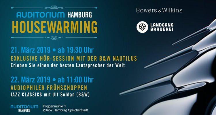 Auditorium Hamburg: Mit der B&W Nautilus wird neuer Showroom eröffnet
