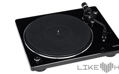 Denon DP-400 Plattenspieler HiFi Turntable Test Review