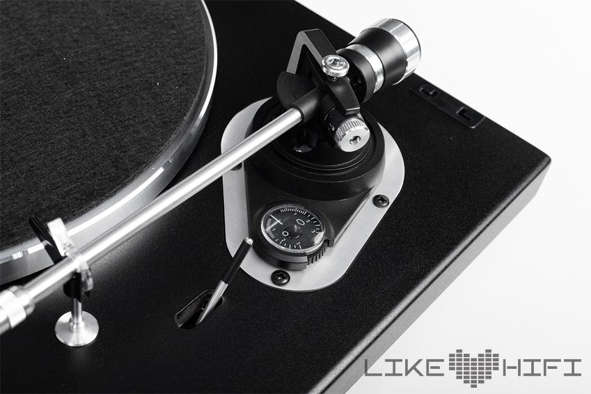Dual CS 526 - Antiskating Tonarm Tonearm Plattenspieler Schallplattenspieler Test Review