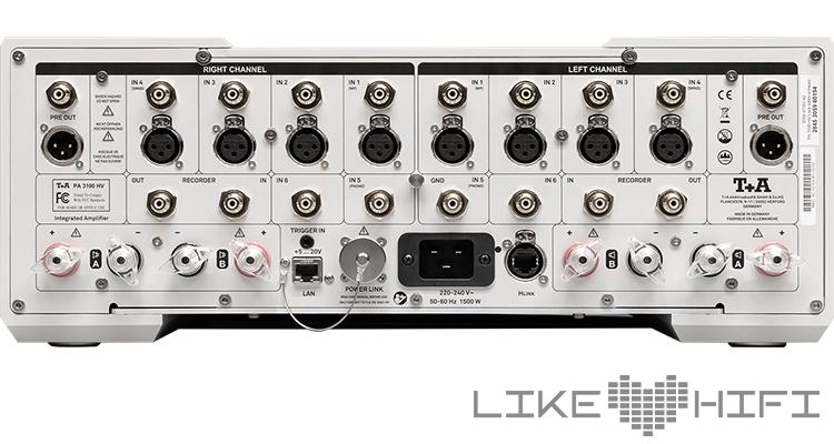 Test T+A PA 3100 HV Vollverstärker Review Amp Stereovollverstärker