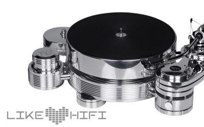 Transrotor Alto Test Review mit SME M2-9R und MC Merlo High End Turntable Plattenspieler