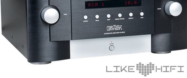 Mark Levinson No 585.5 Integrated Amplifier Stereo Vollverstärker 500 Series Test Review