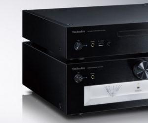 Stereo-Vollverstärker SU-G700 und der Netzwerk-_Super Audio CD-Spieler SL-G700 Technics SACD schwarz black