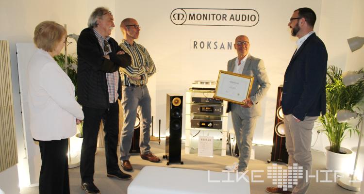Monitor Audio und HiFi im Hinterhof 40 Jahre Händler HIGH END 2019 Silver Lautsprecher 200 Speaker