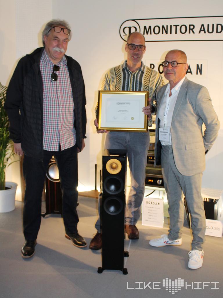 Monitor Audio HiFi im Hinterhof 40 Jahre Händler HIGH END 2019 Silver Lautsprecher 200 Speaker