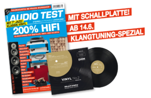 AUDIO TEST 5/19 Vinyl Single Schallplatte 7'' Inch Jazz Klassik Vivaldi