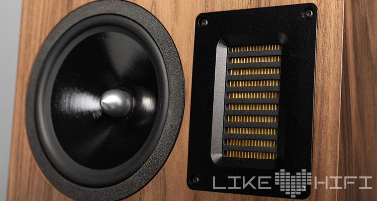 EMIT-Bändchen der Neat Acoustics Iota Xplorer