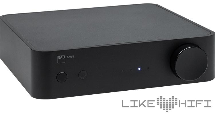 Frontansicht NAD Amp1 Verstärker Vollverstärker