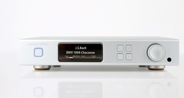 Aurender A100 Streamer Netzwerk Music Player Streaming High End