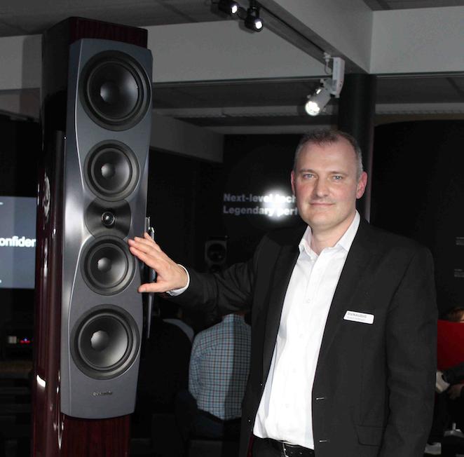 Roland Hoffmann Dynaudio Geschäftsführer CEO Confidence HIGH END Messe 2018