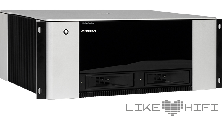 Meridian Audio Media Core 600 Test Testbericht Review Streaming Multiroom Media Server