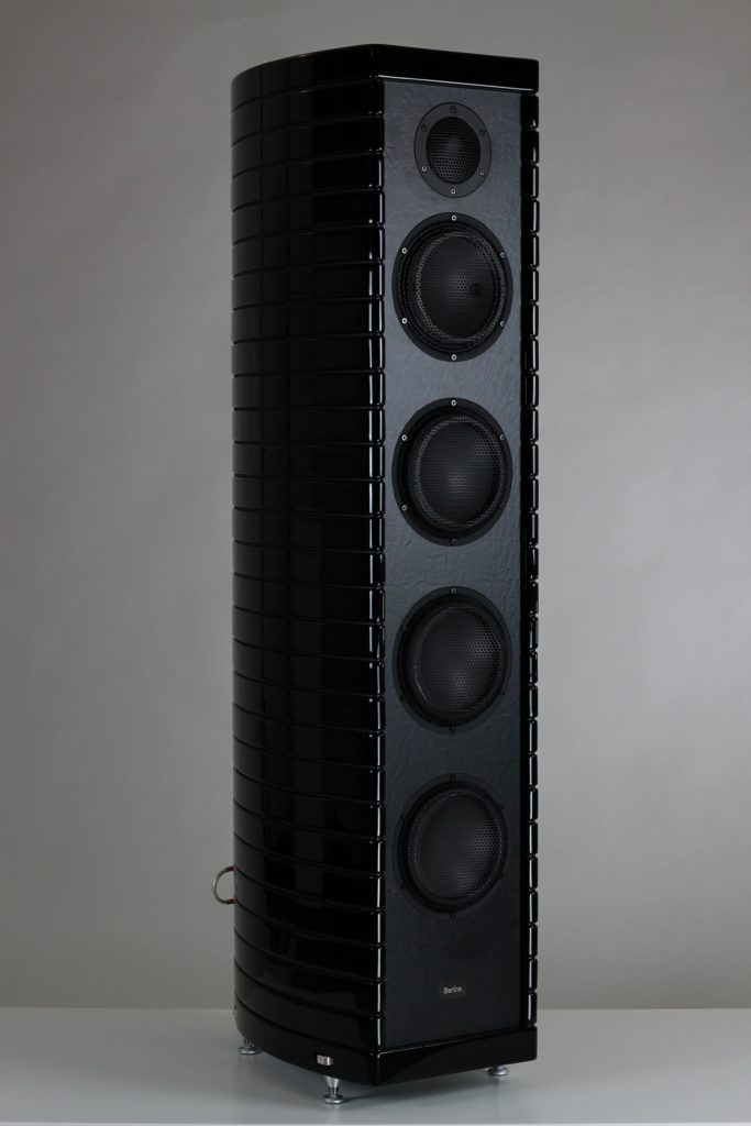 Gauder Akustik Berlina Black Edition schwarz Lautsprecher High End Speaker RC7