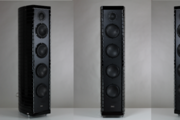 Gauder Akustik Berlina RC7 Black Edition schwarz Lautsprecher High End Speaker