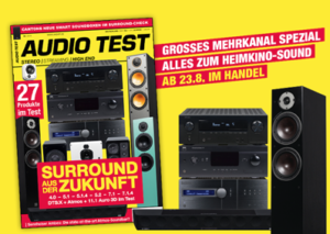 AUDIO TEST 06/19 Titelbild Cover Magazin Heft