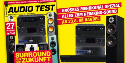 AUDIO TEST Ausgabe 6/19 Titelbild Cover Magazin Hifi Heft Highend Test Review Testmagazin Heimkino Surround Mehrkanal